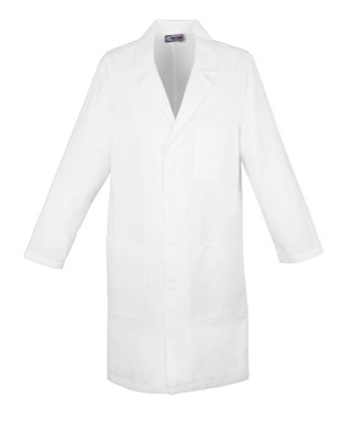 "40"" Unisex Lab Coat - Antimicrobial 1346A"