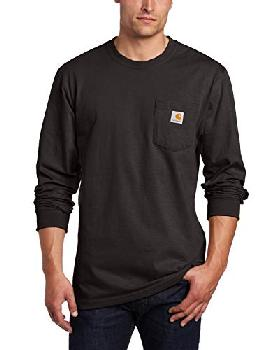 Workwear Long-Sleeve Pocket T-Shirt